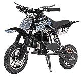 XtremepowerUS 49CC 2-Stroke Gas Power Mini Pocket Dirt Bike Dirt Off Road Motorcycle Ride-on (Pixel Dirt)