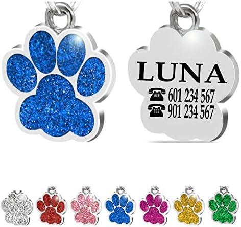 Placa de identificación Personalizada para Collar de Gato