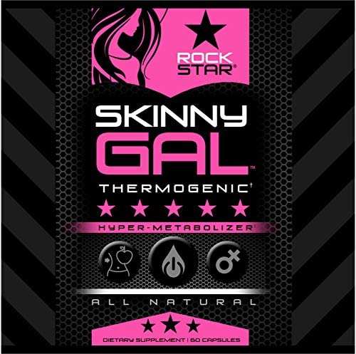Skinny Gal Weight Loss For Women, Diet Pills by Rockstar, Thermogenic Diet Pill and Fat Burner, Weight Loss Pills, 60 Veggie Caps 6