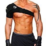 Babo Care Shoulder Stability Brace with Pressure Pad Light and Breathable Neoprene Shoulder Support for Rotator Cuff, Dislocated AC Joint, Labrum Tear, Shoulder Pain, Shoulder Compression Sleeve