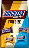 SNICKERS Variety Mix Fun Size Candy Bars, Great for Valentine's Chocolate, 35.09-Ounce