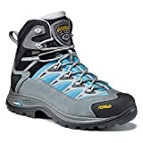 Asolo Touchstone Hiking Boot - Women's - 8 - Cloudy Grey/Blue Atoll