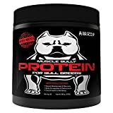 Muscle Bully Protein Supplement for Dogs - Supports Muscle Growth, Recovery and Size. Formulated for Bull Breeds (Pit Bulls, American Bullies, Bulldogs)