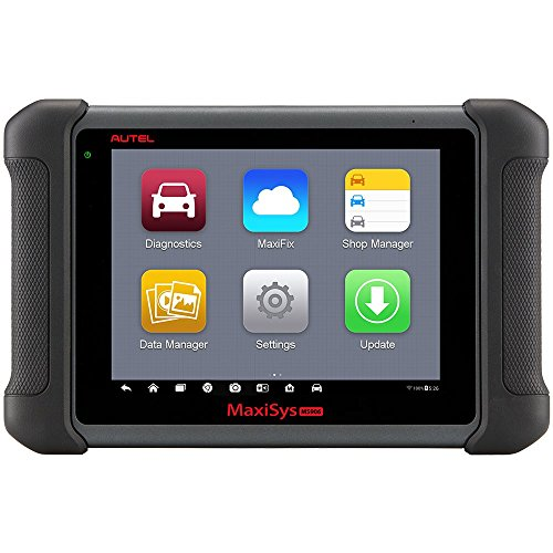Autel Maxisys MS906 Automotive Diagnostic Scanner Scan Tool Code Reader (Upgraded Version of DS708 and DS808) with OE-level Vehicle Coverage of Read/Erase Codes, Actuation Tests, Adaptations etc.