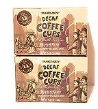 Trader Joe's Decaf Coffee Cups Medium Roast 12 Single Serve Cups