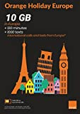 Orange Holiday Europe – 10GB Internet Data in 4G/LTE (20GB PROMOTION FOR SIMS ACTIVATED FROM APRIL 4TH) + 120 mn + 1000 texts in 30 countries in Europe