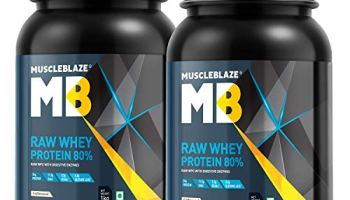 MuscleBlaze Raw Whey Protein Concentrate