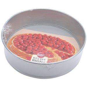 Wilton Round Cake Tin, Recipe Right, Non Stick, Springform, 25.4cm (10in) 51uV0aAiZwL