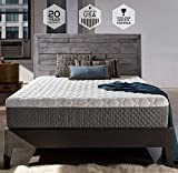 Sleep Innovations Taylor 12-inch Cooling Gel Memory Foam Mattress, Bed in a Box, Made in the USA, 20-Year Warranty - Queen Size