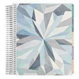 Erin Condren 12-Month July 2019 - June 2020 Coiled LifePlanner - Kaleidoscope Neutral, Hourly (Colorful Layout)
