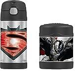 DC Comics Batman vs Superman Funtainer Thermos Bottle & Food Jar