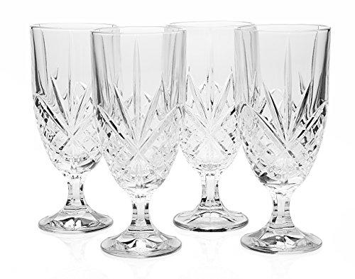 Godinger Dublin Crystal Set of 12 Iced Beverage Glasses