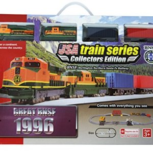 LEC USA 1996 Burlington Northern Sante Fe Battery Operated Train Set 51uWcex2HZL