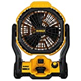 DEWALT DCE511B 20V MAX 11' Corded/Cordless Jobsite Fan (Tool Only)