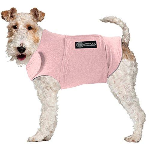 American Kennel Club Calming Coat Medium 19'-24' Chest, Pink