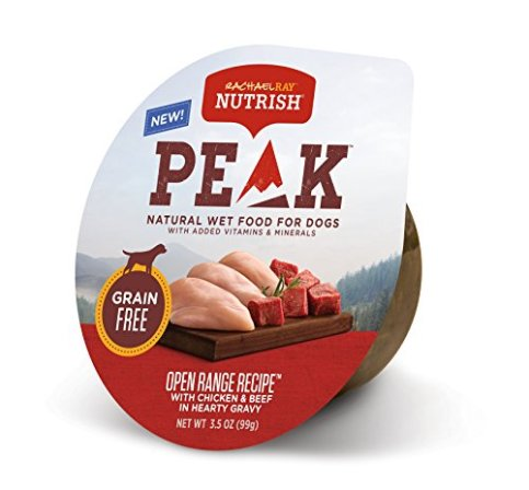 Rachael-Ray-Nutrish-Peak-Natural-Wet-Dog-Food-Grain-Free-Open-Range-Recipe-Chicken-Beef-In-Hearty-Gravy-35-Oz-Tub-Pack-Of-16