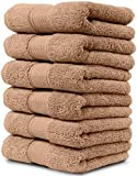 Maura 6 Piece Hand Towel Set. 2017 Premium Quality Turkish Towels. Super Soft, Plush and Highly Absorbent. Set Includes 6 Pieces of Hand Towels (Hand Towel - Set of 6, Sand)