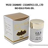 XISHIMEI,BIO-GOLD PEARL GEL, Moisturize ,Anti-wrinkle,Anti-aging,Spot fading treatment,2 oz