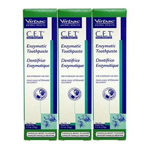 Virbac Dental Chews CET103-3 Vanilla-Mint Toothpaste (3 Pack), 2.5 oz 1