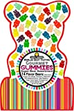 Happy Yummies Worlds Best Tasting Gourmet Gummies Super Bear Assortment 14oz