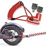 Seway DIsc Brake Lock (Red)