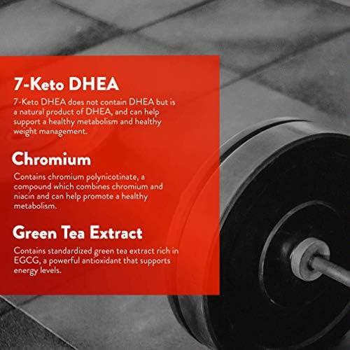 Body Vigor 7-Keto Elite, 7-Keto DHEA Supplement with Green Tea Extract and Chromium, 60 Vegetarian Capsules 8