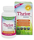 Just Thrive: Probiotic & Antioxidant Supplement - 30 Day Supply - 100% Spore-Based Probiotic - 1000x Better Survivability Than Leading Probiotics - Support Immune & Digestive Health - Vegan & Non-GMO