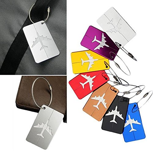 Aluminum-Luggage-Tags-Holders-with-Stainless-Steel-String-Wire