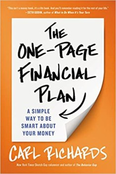 Image result for one page financial plan