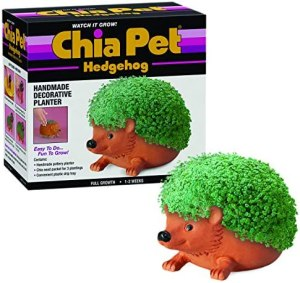 Chia CP438-01 Pet, Hedgehog, Terra Cotta