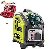 Toucan City Tool Kit (9-Piece) and Ryobi 900-Watt Propane Powered Inverter Generator RYi911LP