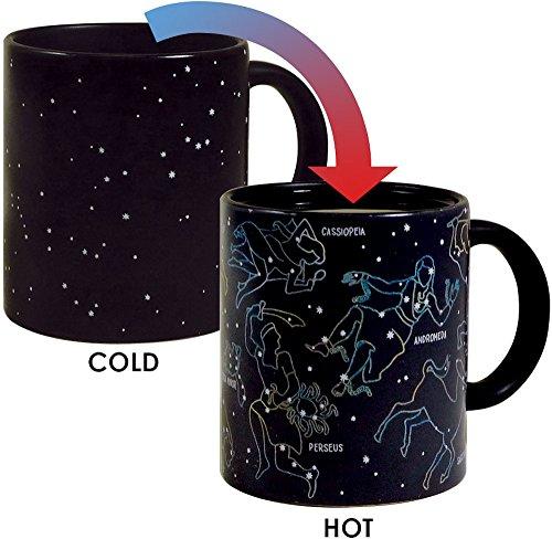 Calor cambiando constelación Taza por los Unemployed Philosophers Guild-Estrellas aparecen en...