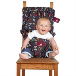 The Washable and Squashable Travel High Chair