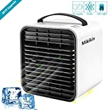 Mikikin Portable Air Conditioner Cooler Fan, Personal Space Air Cooler, Humidifier, Evaporative Cooler, USB...