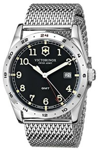 "Victorinox Unisex 241649 ""Infantry"" Stainless Steel Watch with Mesh Bracelet"