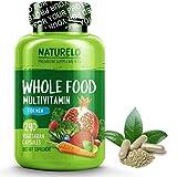 NATURELO Whole Food Multivitamin for Men - Natural Vitamins, Minerals, Antioxidants, Organic Extracts - Vegan/Vegetarian - Best for Energy, Brain, Heart, Eye Health - 240 Capsules