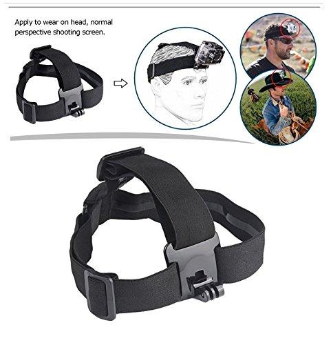 51v%2BKkdWntL Yantralay 15 in 1 Gopro Accessories Kit for Hero 8 7 6 5 4 3+, Osmo Action, SJCAM SJ4000 SJ5000, Yi & Other Action Cameras (15 Items)