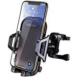 DesertWest Car Phone Mount Cell Phone Holder Air Vent Adjustable with 360 Degree Rotation, Compatible with iPhone XR Xs Max Xs X 8 7 6+, Samsung Galaxy S10 S10+ S10e S9 S8 S7, LG Google Huawei etc