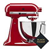 Kitchen Aid Tilt-Head Stand Mixer 4.5 Quart KSM85PBER, Empire Red