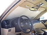 HeatShield The Original Auto Sunshade, Custom-Fit for Acura TL Sedan 2004, 2005, 2006, 2007, 2008, Silver Series