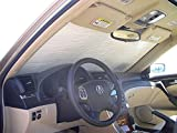 The Original Windshield Sun Shade, Custom-Fit for Acura TL Sedan 2004, 2005, 2006, 2007, 2008, Silver Series