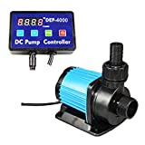 Uniclife DEP-4000 Controllable DC Water Pump 1052 GPH with Controller for Marine Freshwater Aquarium Pond Circulation