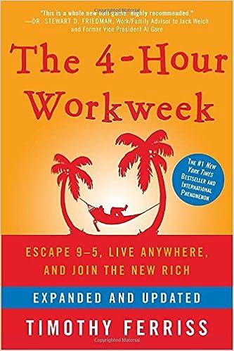 Risultati immagini per The 4 HourWork Week