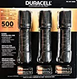 Duracell Durabeam Ultra LED Flashlight 500 Lumens, 3 Count