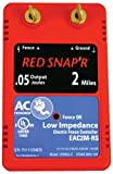 Red Snap'r EAC2M-RS 2-Mile AC Low Impedance Fence Charger