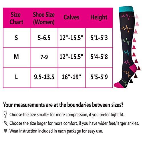 Compression Socks Women and Men, 20-30mmHg, Best for Nurses, Travel, Pregnancy deal 50% off 51v8lxww8fL