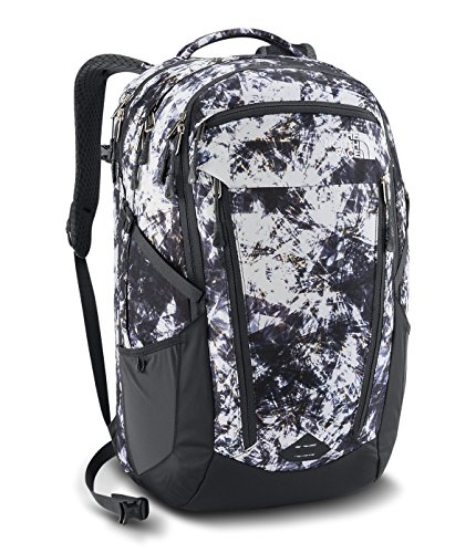 The North Face W Surge Diamond Life Print/Asphalt Grey Womens Daypack