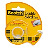 Scotch Brand Double Sided Tape, No Liner, Engineered for Holding, 3/4 x 300 Inches, Boxed, 1 Roll (237)