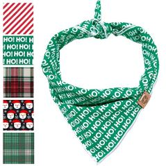 BarkBarkGoose-Medium-HO-HO-HO-Christmas-Dog-Bandana-in-Green-and-White