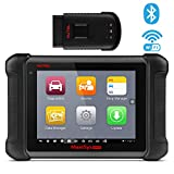 Autel MaxiSys MS906BT Bluetooth Automotive Scan Tool Diagnostic Scanner with ECU Coding, Key Coding, Bi-Directional Control, Oil Reset, ABS, SRS, DPF, EPB, TPMS, Advanced Ver. of MS906 DS808 MK808